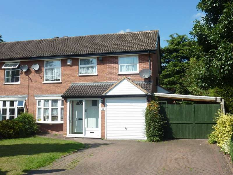 4 Bedrooms Semi Detached House for rent in Firbarn Close, Sutton Coldfield