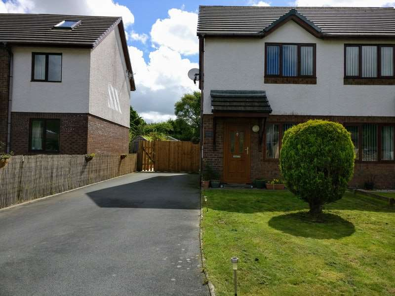 2 Bedrooms Semi Detached House for sale in Ger Y Llan, Aberystwyth, SY23