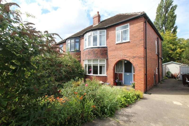 3 Bedrooms Semi Detached House for sale in Wynford Terrace, West Park, LS16