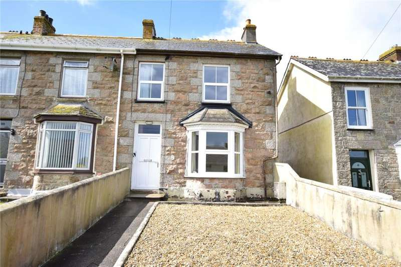 2 Bedrooms End Of Terrace House for sale in Newton Road, Troon, Camborne