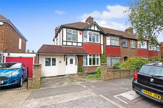 3 Bedrooms Semi Detached House for sale in Grantock Road, Walthamstow, London