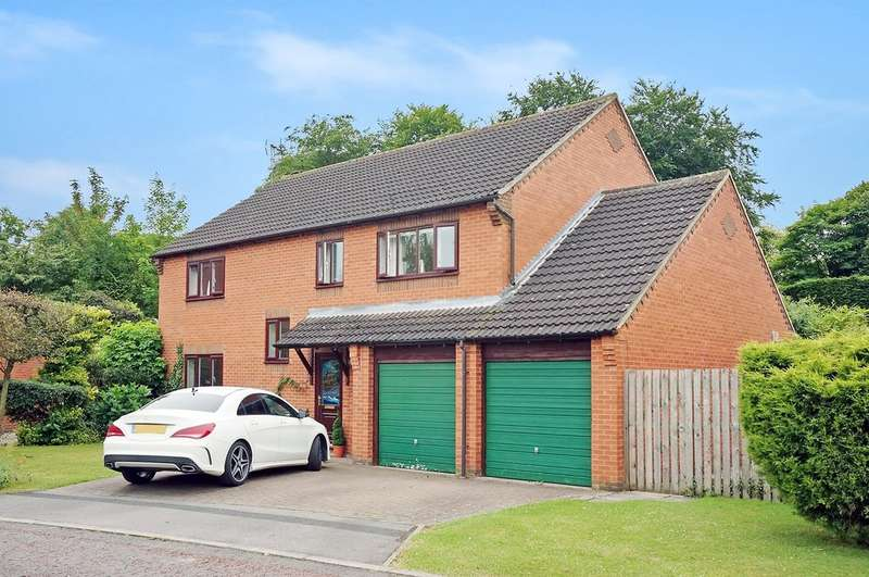 5 Bedrooms Detached House for sale in Glebe Field Holt, Wetherby, LS22 6WJ