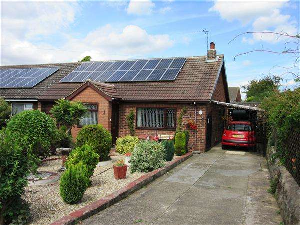 2 Bedrooms Semi Detached Bungalow for sale in Stainton Drive, Scunthorpe