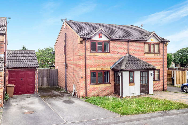 2 Bedrooms Semi Detached House for sale in Spray Close, Colwick, Nottingham, NG4