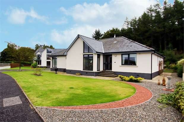 3 Bedrooms Detached Bungalow for sale in Doonhill Wood, Newton Stewart, Dumfries and Galloway
