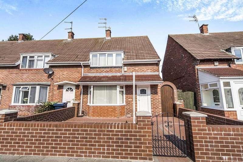 3 Bedrooms Semi Detached House for sale in Hollinside Square, Nookside, Sunderland, SR4