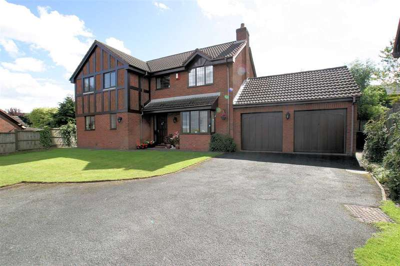 4 Bedrooms Detached House for sale in The Heights, Ladderedge, Leek