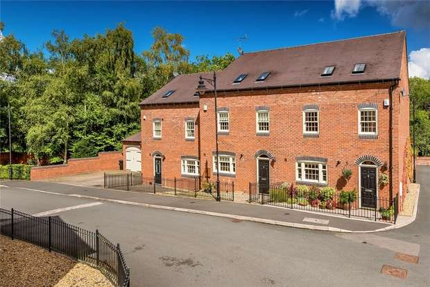 4 Bedrooms Town House for sale in 5 The Woodlands, Jackfield, Shropshire
