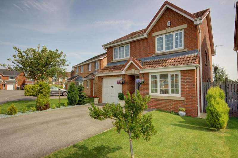 4 Bedrooms Detached House for sale in Abbeydale Gardens, South Hetton, Durham, DH6