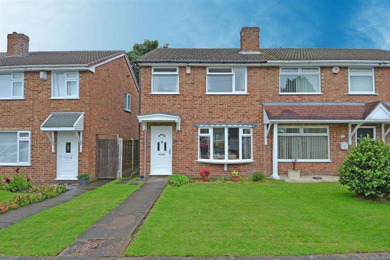 3 Bedrooms Semi Detached House for sale in Cheveley Avenue, Rednal, Birmingham
