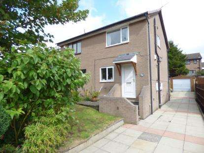2 Bedrooms Semi Detached House for sale in Castlerigg Drive, Burnley, Lancashire