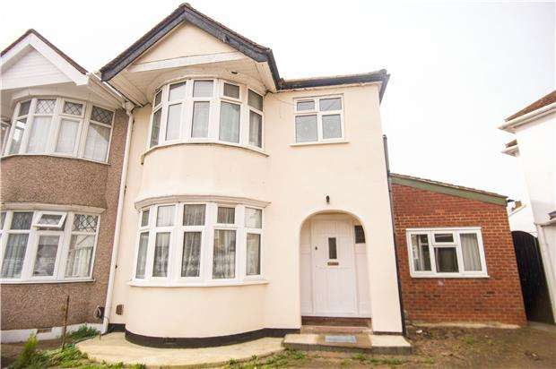 5 Bedrooms Semi Detached House for sale in Stewart Close, LONDON, NW9 8AJ
