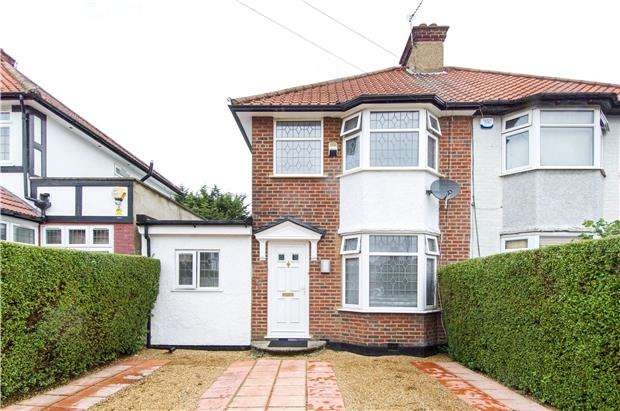 5 Bedrooms Semi Detached House for sale in Portman Gardens, COLINDALE, NW9 5AS
