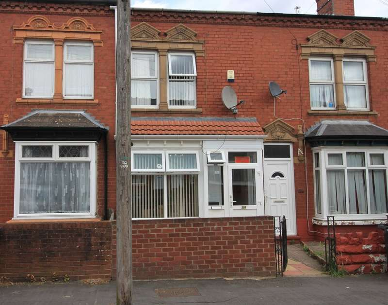 2 Bedrooms Terraced House for sale in Selsey Road, BIRMINGHAM, West Midlands