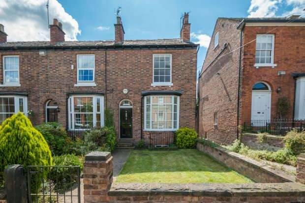 4 Bedrooms Terraced House for sale in Ashley Road, Hale