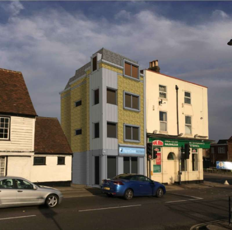 Land Commercial for sale in London Road, Rochester, Kent, ME2 3HT