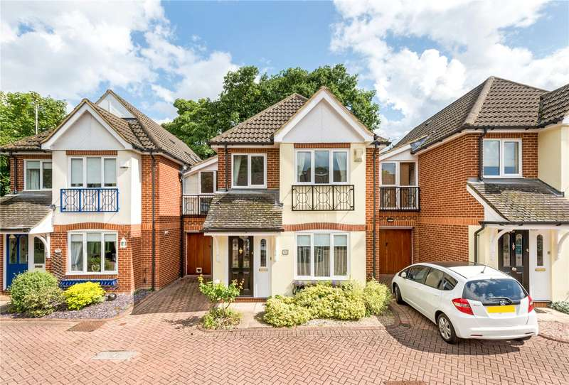 4 Bedrooms Detached House for sale in Portmore Quays, Old Wharf Way, Weybridge, Surrey, KT13