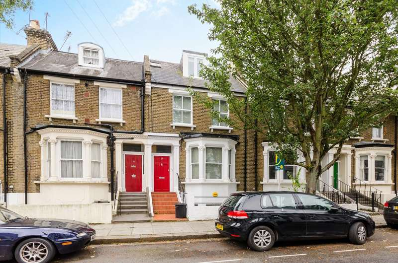 2 Bedrooms Maisonette Flat for sale in Archel Road, Barons Court, W14