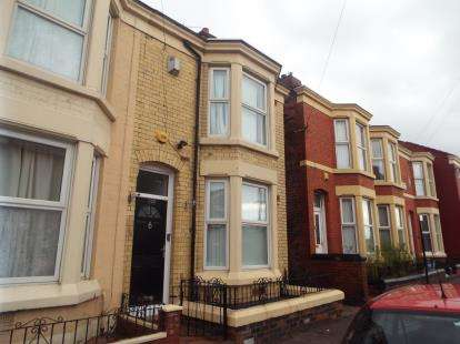 4 Bedrooms Terraced House for sale in Albany Road, Liverpool, Merseyside, England, L7