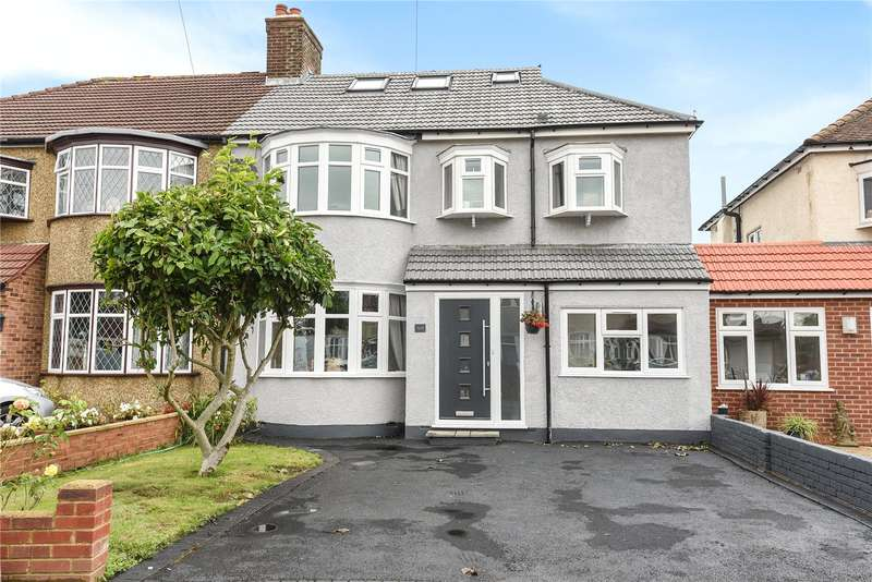 5 Bedrooms Semi Detached House for sale in Chestnut Drive, Pinner, Middlesex, HA5