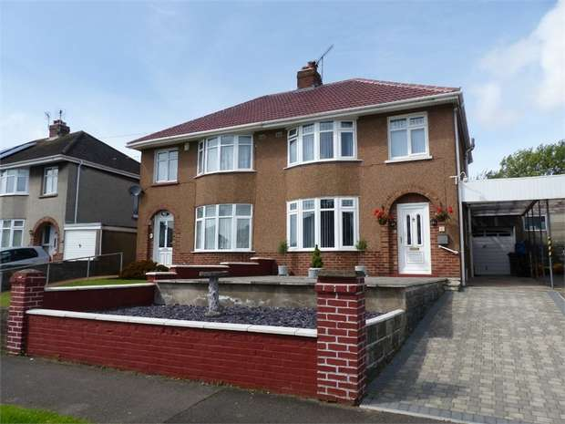 3 Bedrooms Semi Detached House for sale in Fairfield Road, Bridgend, Bridgend, Mid Glamorgan