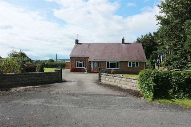 3 Bedrooms Detached Bungalow for sale in Lloc, Holywell, Denbighshire
