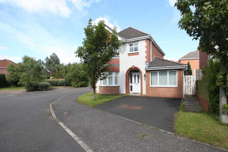 4 Bedrooms Detached Villa House for sale in Peploe Rise, Dunfermline, Fife, KY11 8NB