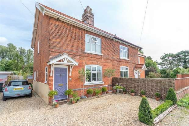 2 Bedrooms Semi Detached House for sale in 25 Mill Road, Great Ryburgh