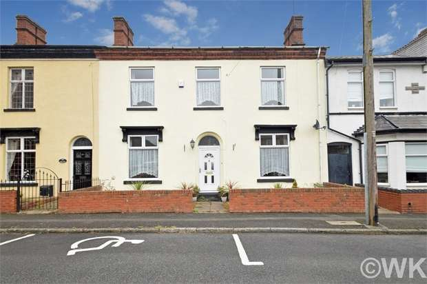 4 Bedrooms Terraced House for sale in Newton Street, WEST BROMWICH, West Midlands