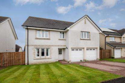 4 Bedrooms Detached House for sale in Cortmalaw Crescent, Glasgow, Lanarkshire