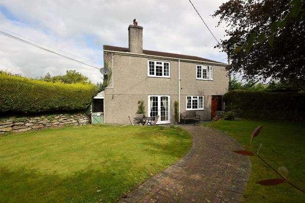 3 Bedrooms Detached House for sale in Budges Shop, Trerulefoot, Saltash, Cornwall