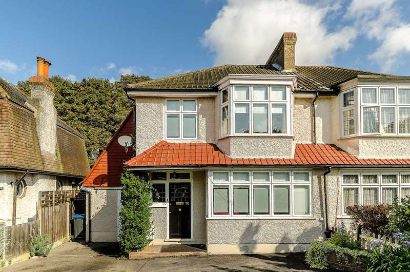 3 Bedrooms Semi Detached House for sale in Surbiton Hill Park, Surbiton, KT5