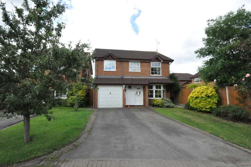 4 Bedrooms Detached House for sale in Firmstone Close, Reading, Berkshire, RG6
