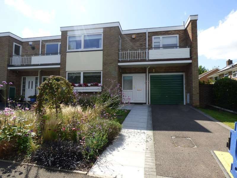 3 Bedrooms End Of Terrace House for sale in Fugelmere Close, Harborne, Birmingham, B17 8SE