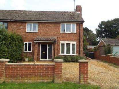 2 Bedrooms Semi Detached House for sale in Blenheim Park, Fakenham, Norfolk