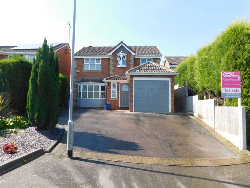 4 Bedrooms Detached House for sale in Rydal, Tamworth