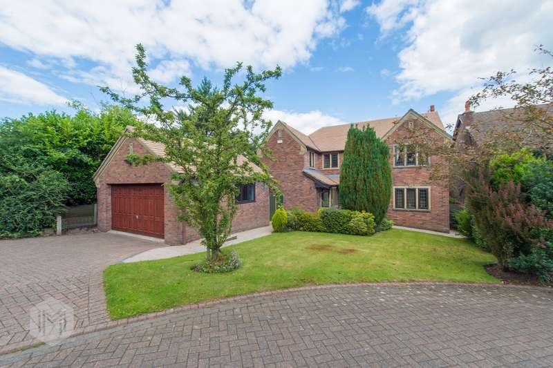 5 Bedrooms Detached House for sale in Greenmount Close, Greenmount, Bury, BL8