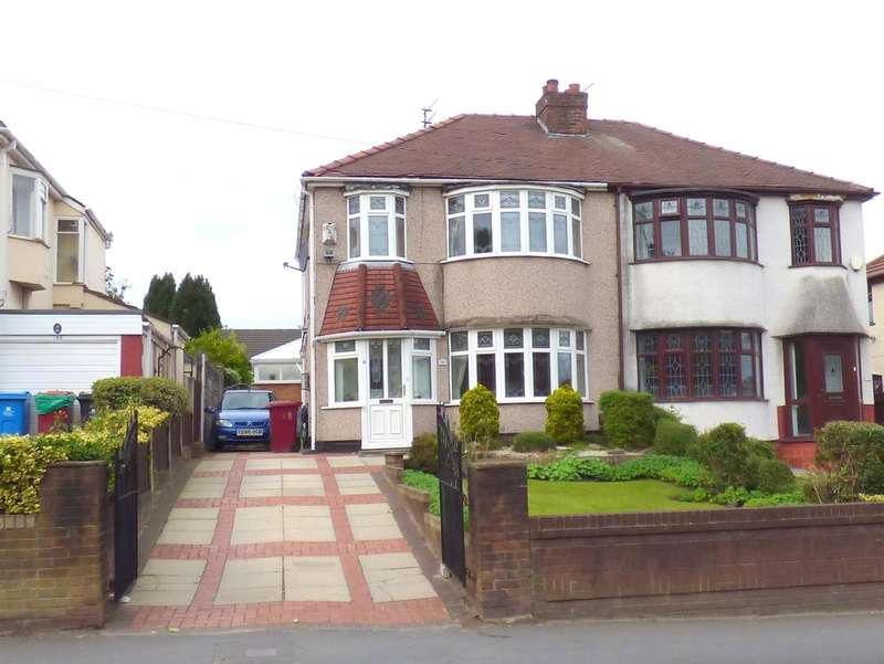 3 Bedrooms Semi Detached House for sale in Bluebell Lane, Huyton, Liverpool