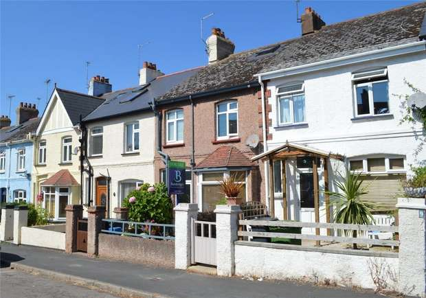 3 Bedrooms Terraced House for sale in Clarence Road, BUDLEIGH SALTERTON, Devon