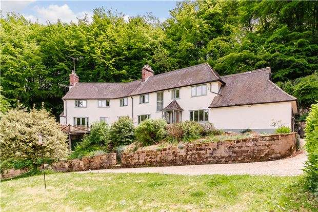 5 Bedrooms Detached House for sale in Hillside House, Stinchcombe Hill, DURSLEY, Gloucestershire, GL11 6AQ