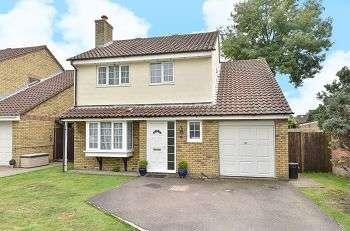 4 Bedrooms Detached House for sale in Millfield Road, West Kingsdown, Kent, TN15 6BX
