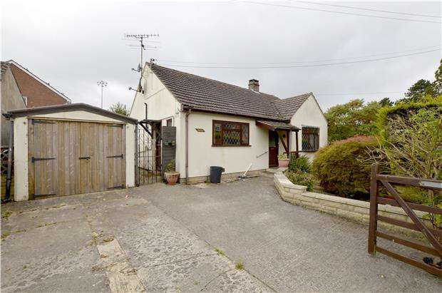2 Bedrooms Detached Bungalow for sale in Frome Park Road, STROUD, Gloucestershire, GL5 3LF