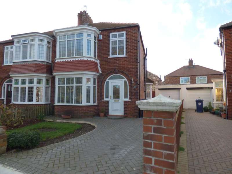 3 Bedrooms Semi Detached House for sale in Whitby Crescent, Redcar