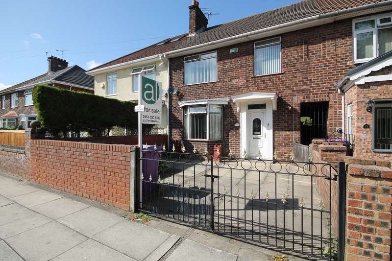 3 Bedrooms Terraced House for sale in The Beechwalk Knotty Ash L14