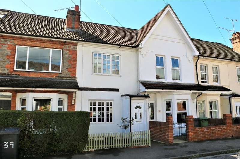3 Bedrooms Terraced House for sale in Coronation Road, South View, BASINGSTOKE, RG21