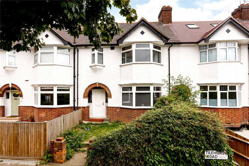 3 Bedrooms Terraced House for sale in Tilehurst Road, London, SW18