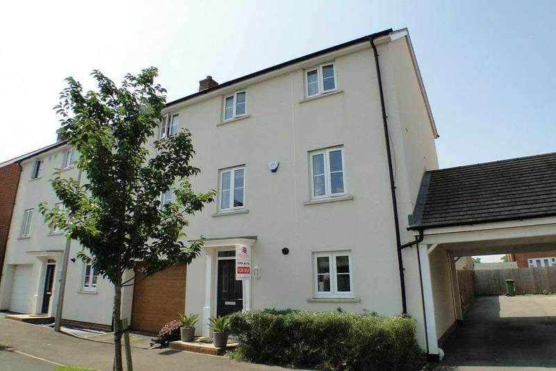 4 Bedrooms Semi Detached House for sale in Margarita Gardens, Milton Keynes