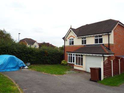 4 Bedrooms Detached House for sale in Dartmouth Avenue, Walsall, West Midlands