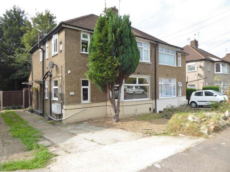 2 Bedrooms Maisonette Flat for sale in Eversley Avenue, Barnehurst, Kent, DA7 6SW