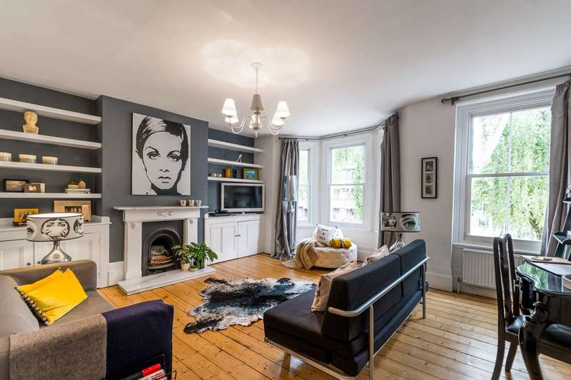 3 Bedrooms Flat for sale in Meadow Road, Vauxhall, SW8